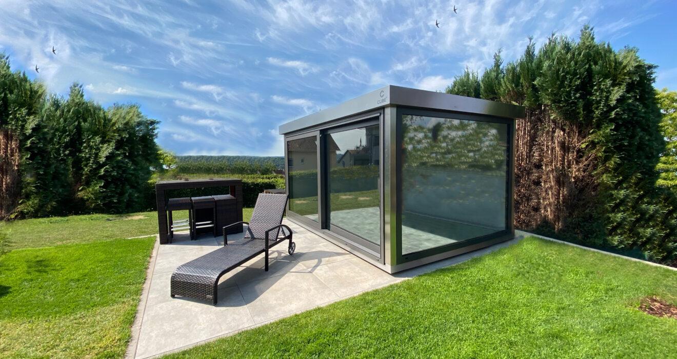 Anlieferung und Aufbau eines Gartenhauses: das gilt es zu beachten.